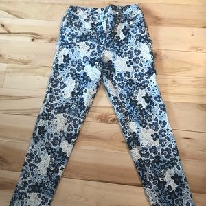 Floral Hanna Andersson pants